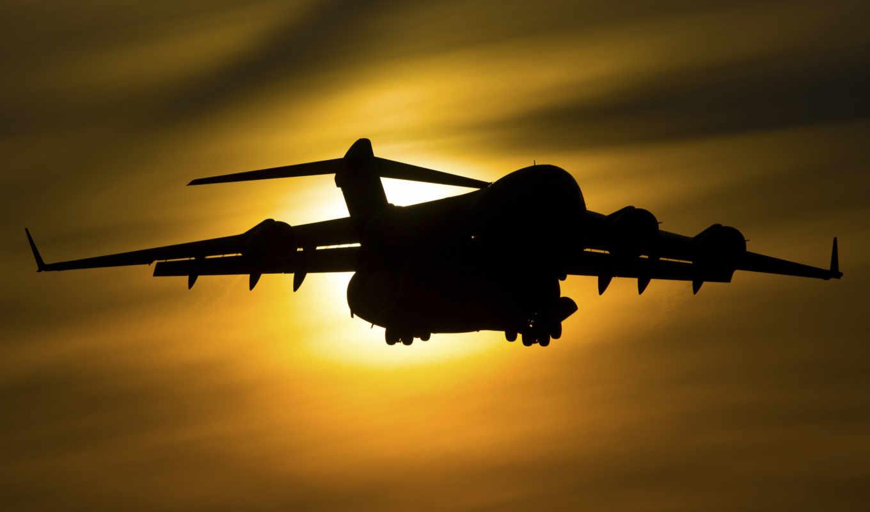 boeing, iii, globemaster, транспорт, самолёт, военный, 747