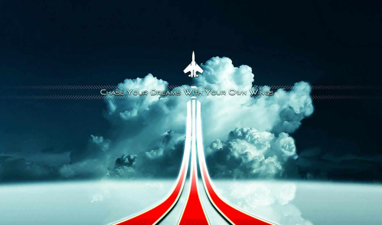 небо, самолёт, линия, смотрите, dreams, chasing, speed, авиация, экрана, loading, pages, website, самолётик,