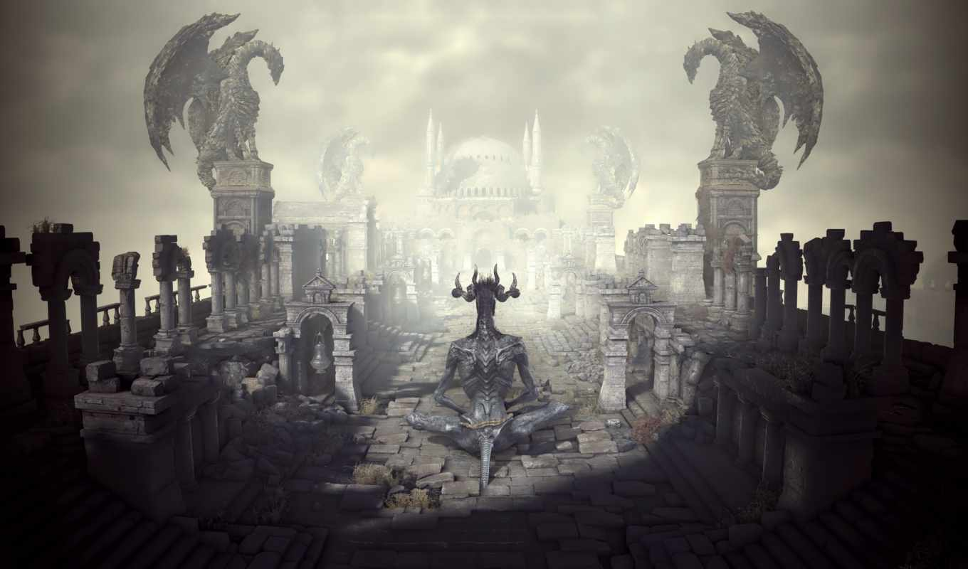 souls, dark, iii, resolution, game,