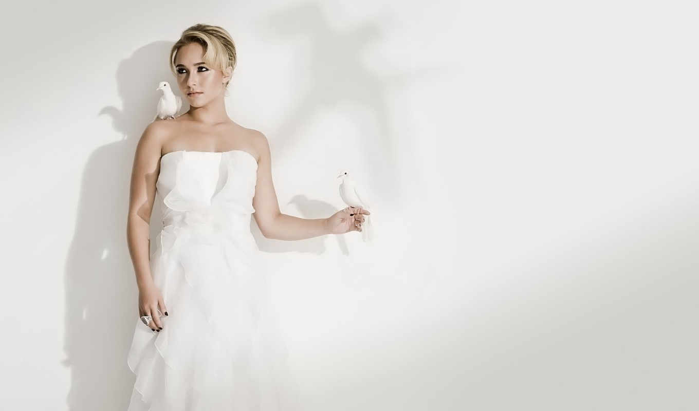 hayden, panettiere, white, image, gown,