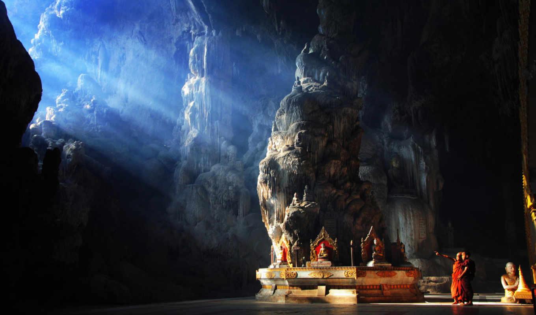 пещера, пещеры, kyaut, sae, caves, myanmar, batu, карстовые, города,