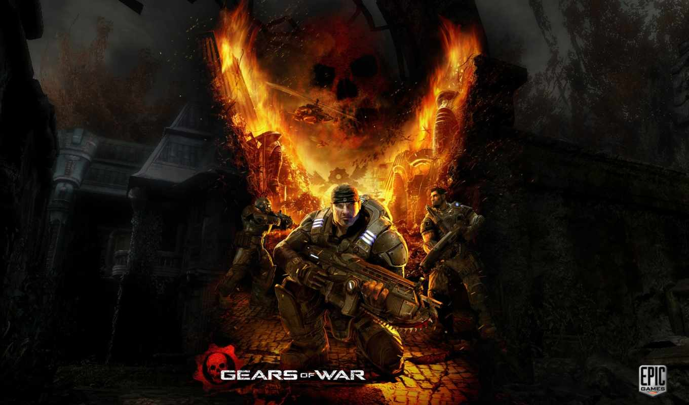 war, gears, game, плакат, posters,