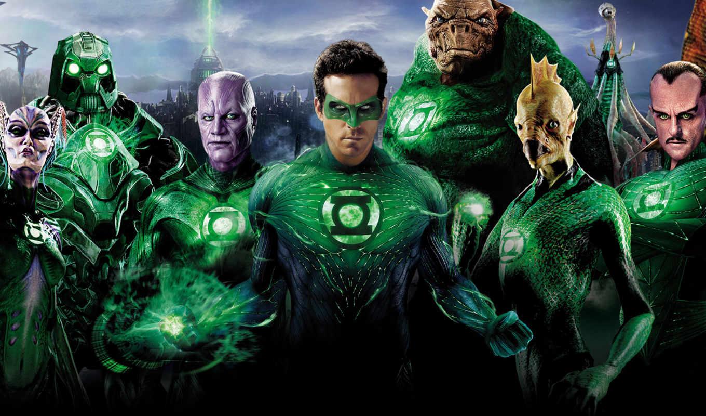 зелёный, lantern,