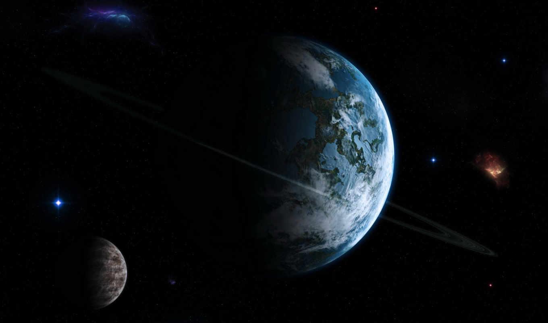 арт, космос, планета,