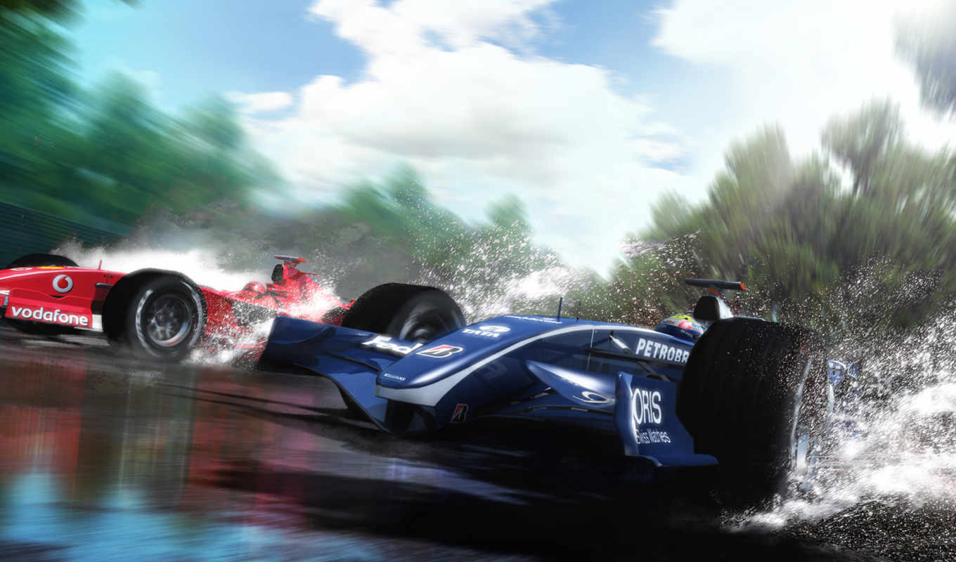 formula, one, williams, спорт, water, ferrari, картинка, speed, desktop, race,
