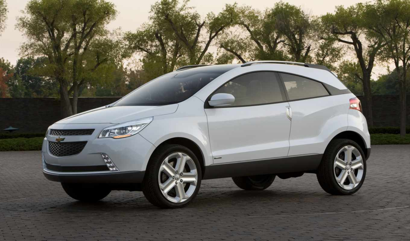 chevrolet, agile, gpix, concept, front, angle, picture, crossover, coupe, foto,