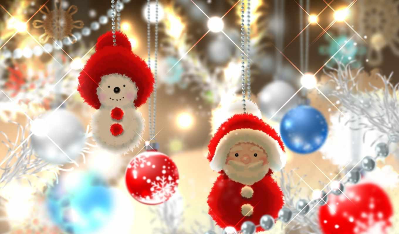 иней, дед, new, год, christmas, праздники, снеговик,