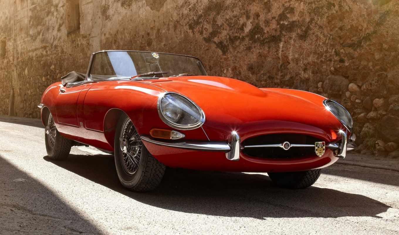 jaguar, автомобиль, суперкар, ретро,