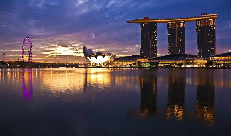 singapore, марина, bay, sands, остров,