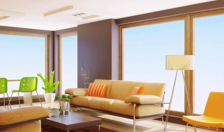 квартира, interer, dizain, диван, мебель, интерьер, комната, столик,