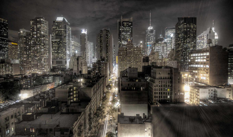 new, york, город, desktop, skyline, awesome, фон,