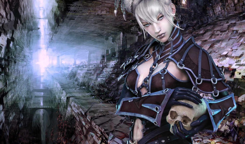guild, wars, игры, skull, necromancer, resolution, with, desktop, art, игра, games, princess, видео, dark,