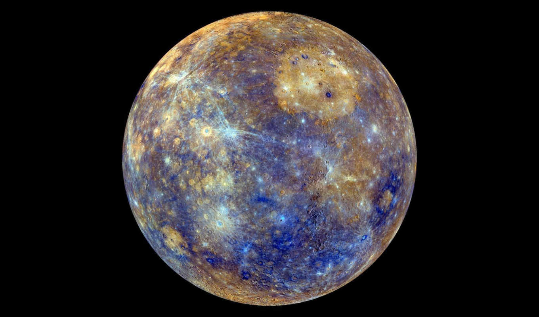 nasa, mercury, gözünden, dünya, vesoljne, mar, slike, datumske, nın, messenger, космос, nin, color, меркурия, planet, image,