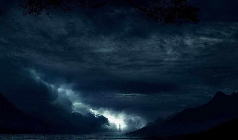 little, fotos, vetores, noite,