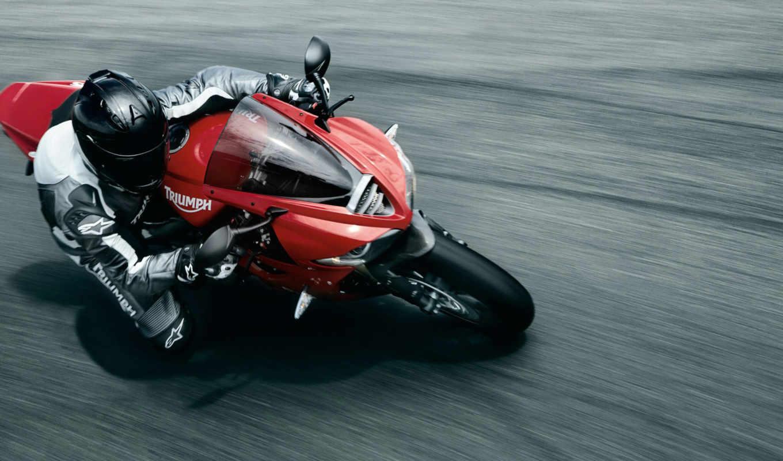 daytona, triumph, мотоцикл, спорт, bike,