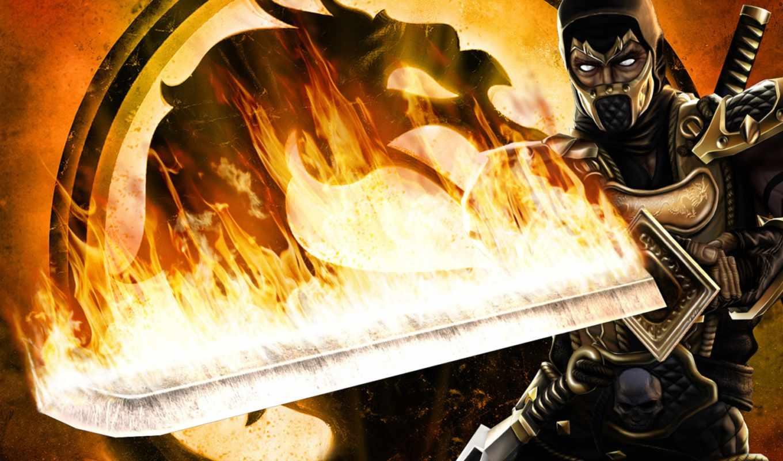 mortal, kombat, wallpaper, scorpion, wallpapers, world, all, and, fire, deception, un, desktop,
