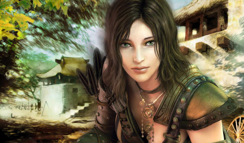 wars, guild, archer, ãàå, download, desktop, guerreras, spiel,