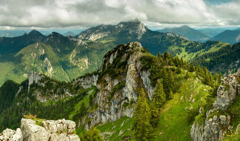 пейзажи, пейзаж, горы, природа, зелень, категории, деревья,