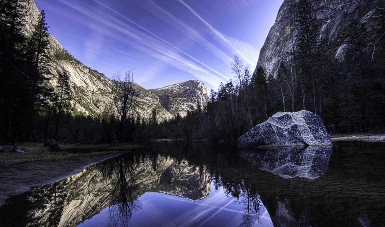 озеро, зеркало, imagenes, изображения, поделиться, вернуться,