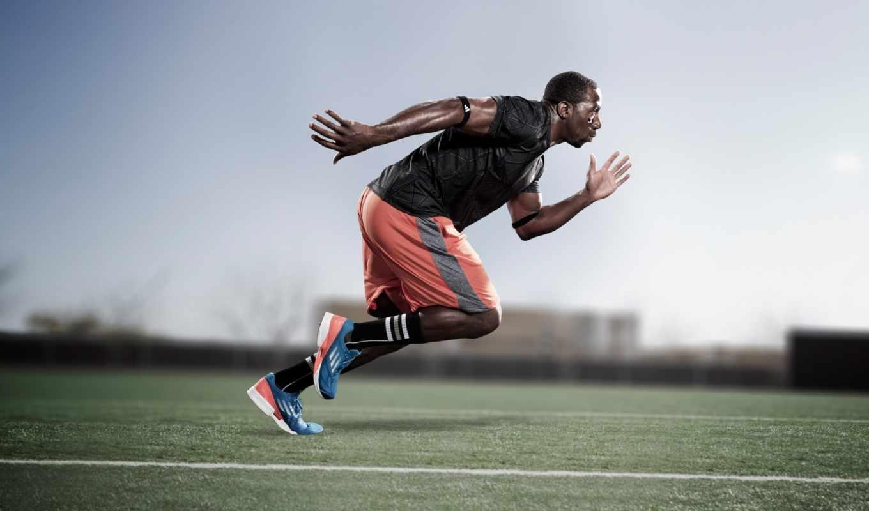 бег, спринт, adidas, человек, adizero, feather, картинка, спорт,