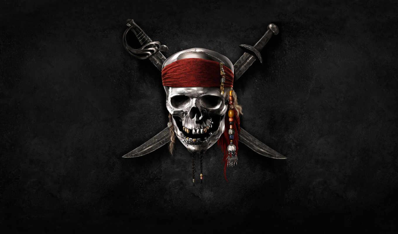pirates, caribbean, logo, desktop, save,