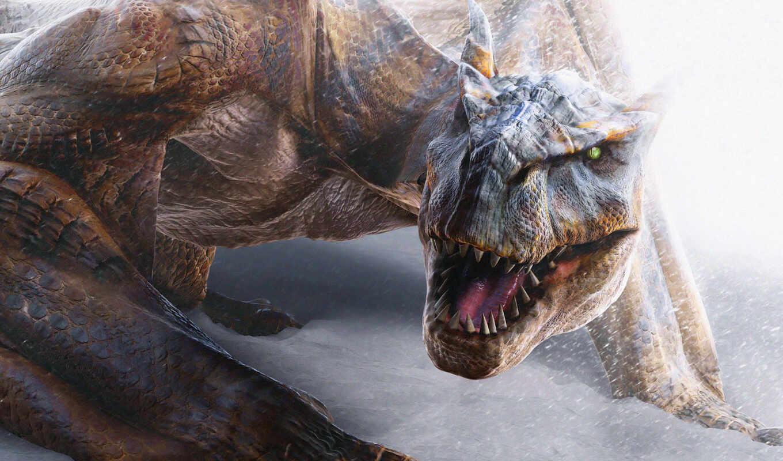 monster, hunter, dragon, ipad, fantasy, игры, динозавр, компьютерные, download,