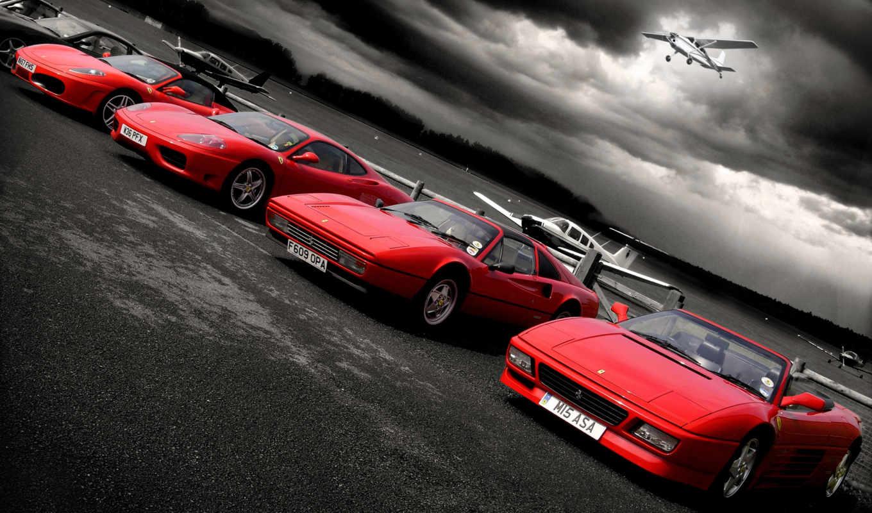 cars, car, ferrari, red, puzzle, февр, самолеты, purple, картинка,