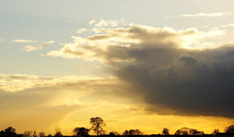 закат, небо, gold, красивых, подборка, девушек, this, has, tagged,