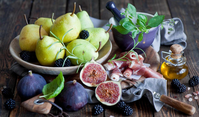 фиг, ягоды, blackberry, груши, натюрморт, figi, картинка, сыр,