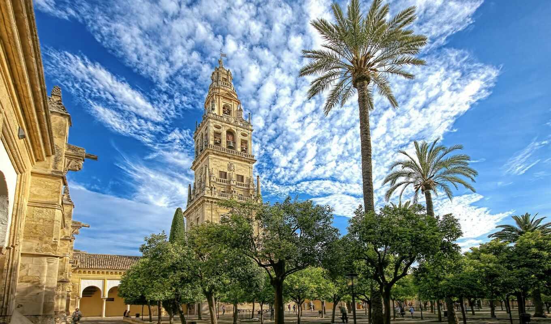 mosque, кордова, mezqui, испания, cathedral