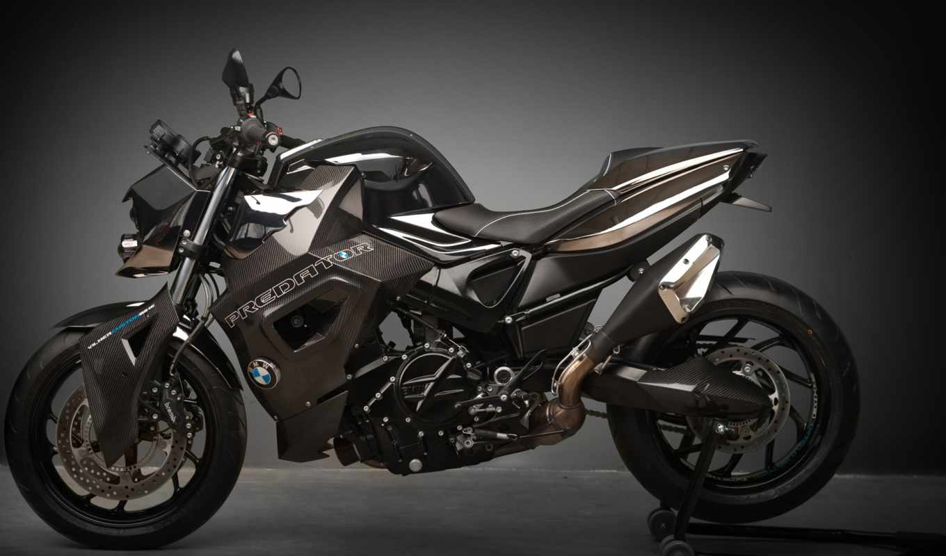 bmw, predator, vilner, custom, bike, бмв, мотоцикл, tuning, мотоциклы, gray, motorcycles,