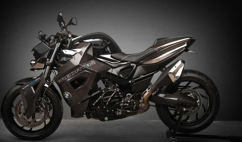 bmw, predator, vilner, custom, bike, бмв, мотоцикл, tuning, мотоциклы, gray, motorcycles,