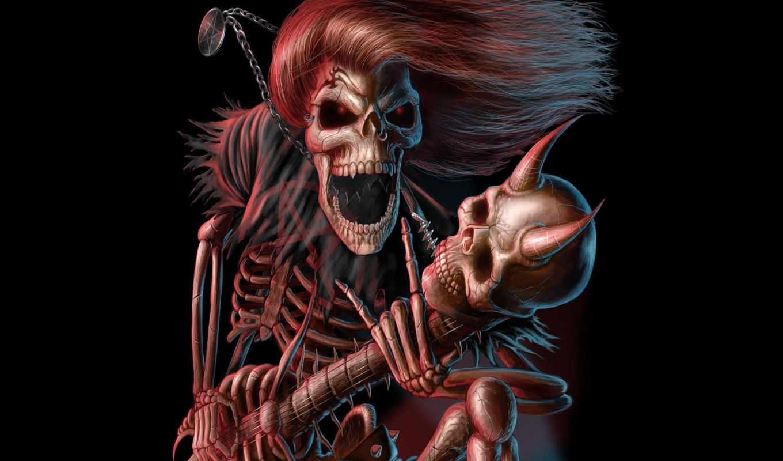 live, скелет, гитара, клуб, superstar, anticrizisss,