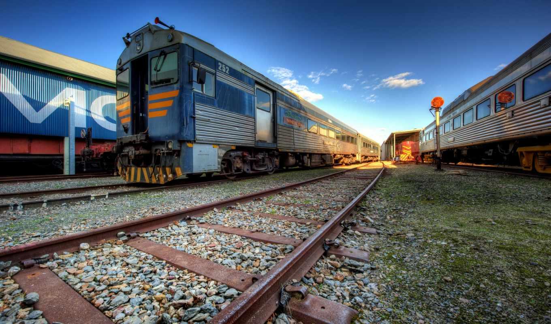 поезд, железный, depot, станция, steam, поезда,