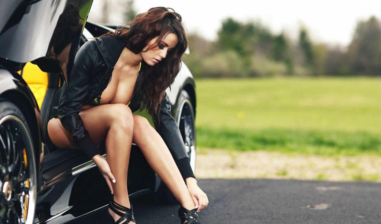 девушек, нравится, devushki, красивые, women, cars, автомобили,