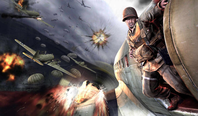 game, картинка, medal, desktop, эпизод, honour, games, airborne, honor,