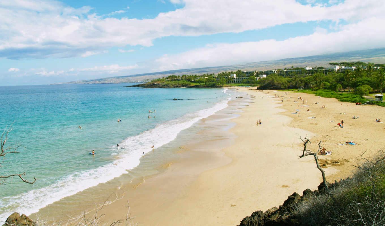 hawaii, пляж, девушек, красивых, beaches, подборка, остров, июня, нов, long,