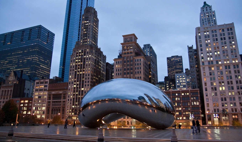america, chicago, usa, country, есть, нью, небоскребы, город, distance, that,
