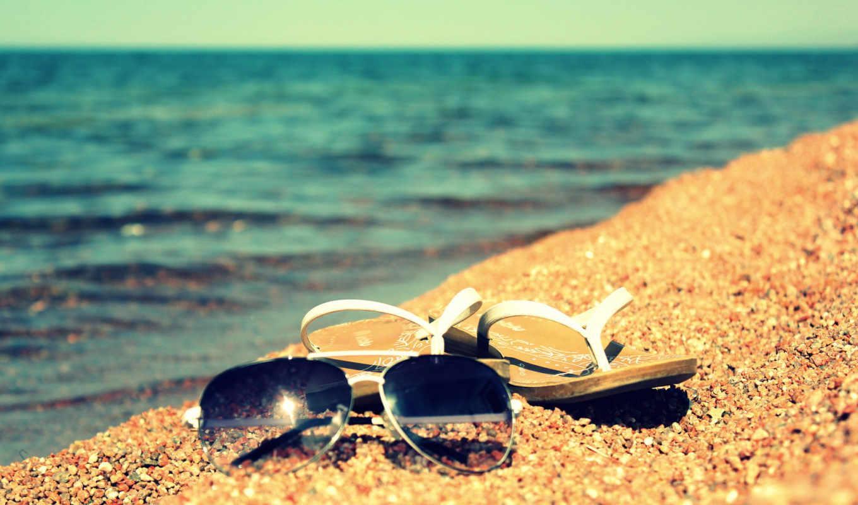 summer, sun, песок, берег, очки, water, шлепки, озеро,