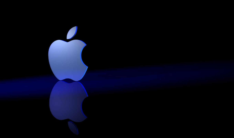 apple, blue, темы, тема, иконками, name, iphone, тоне, logo,