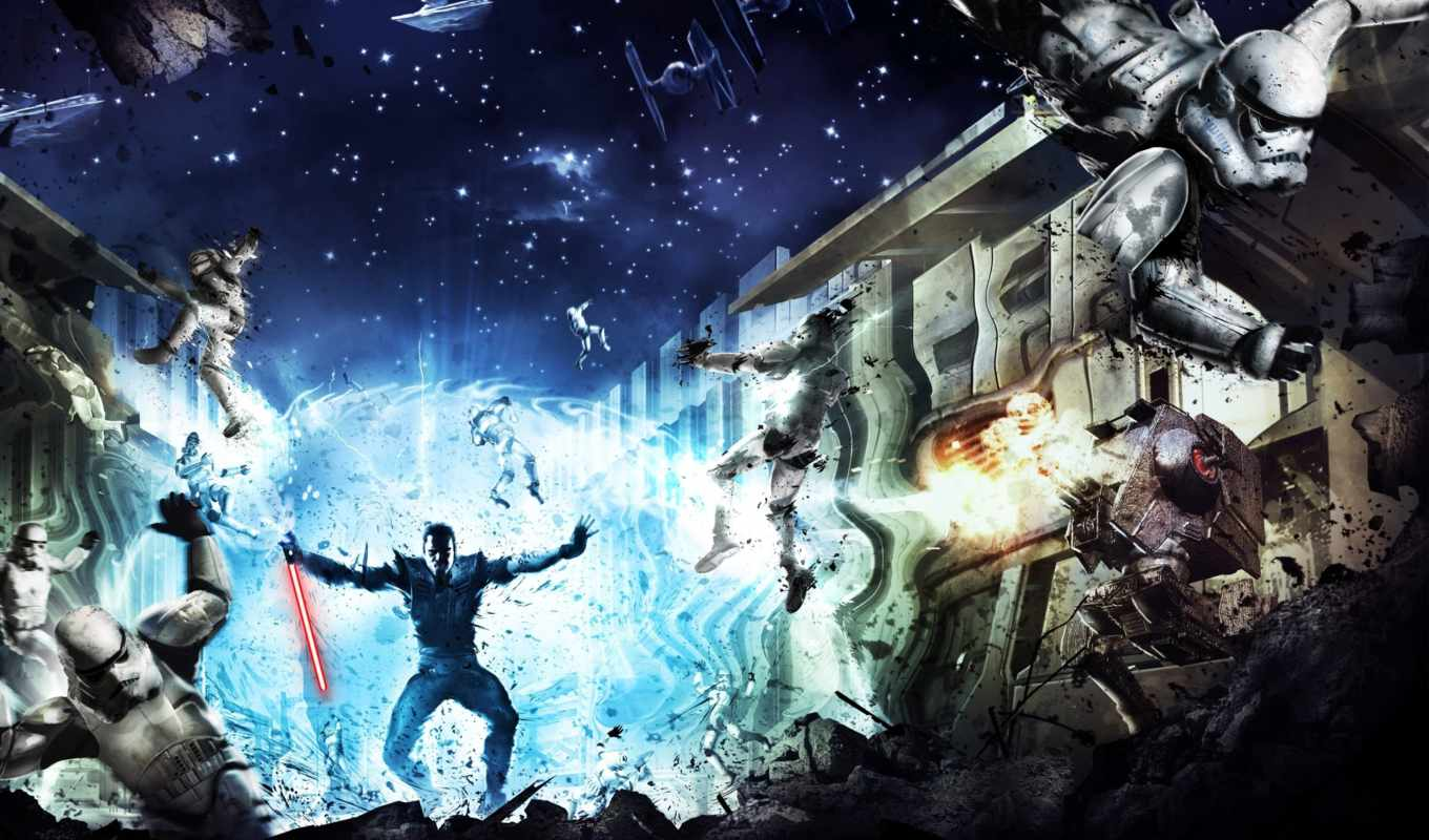 wars, star, force, unleashed, заставки,