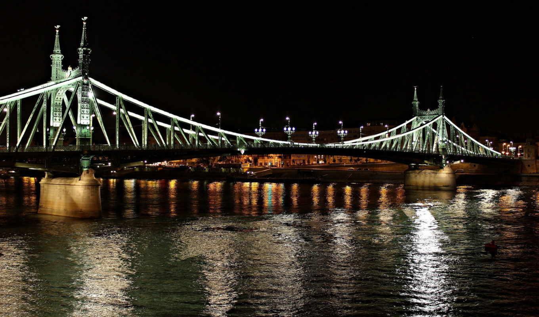 мост, bus, город, дома, тур, экскурсия, посещением,