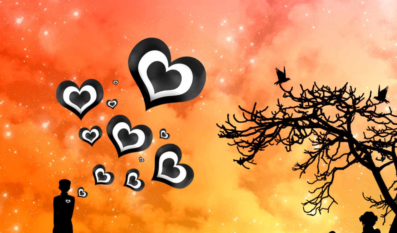 amor, para, frases, uma, voc, parede, vetor, cartões,