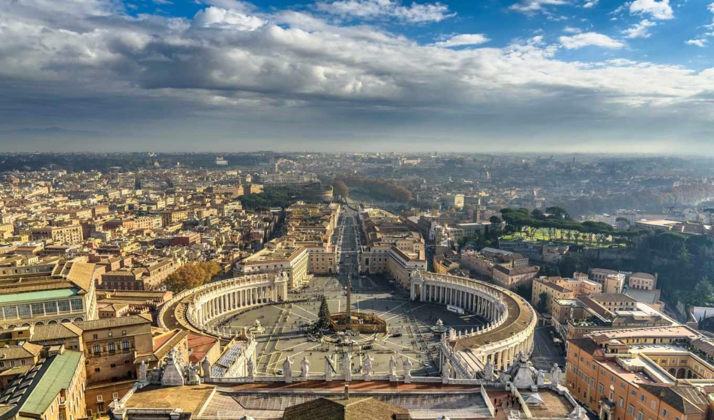 square, peter, vatican, рим, rom, basilica, italy,