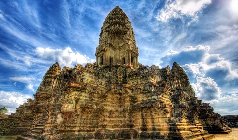 ангкор, камбоджа, ват, храм, храмов, камбодже, камбоджи,