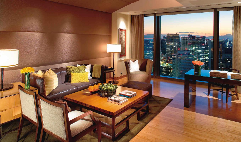 диван, design, стиль, интерьер, браун, комната,