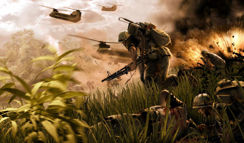 war, vietnam, soldiers, изображение, волк, ops,