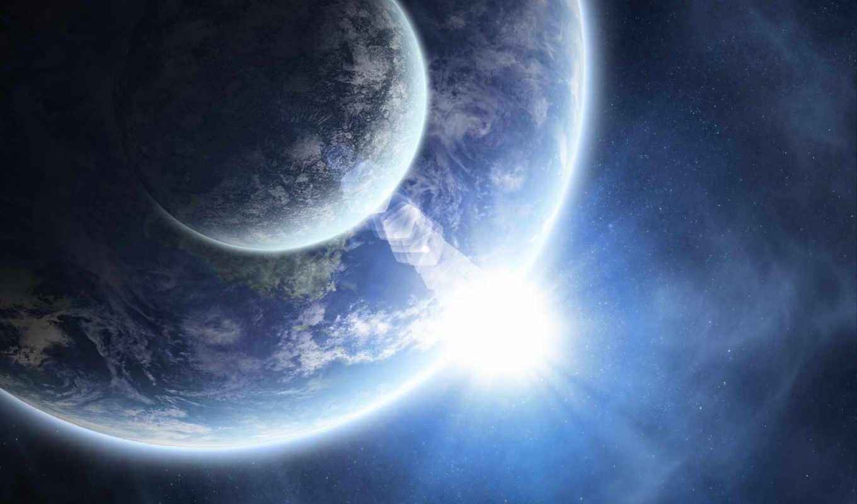,земля, луна, восход