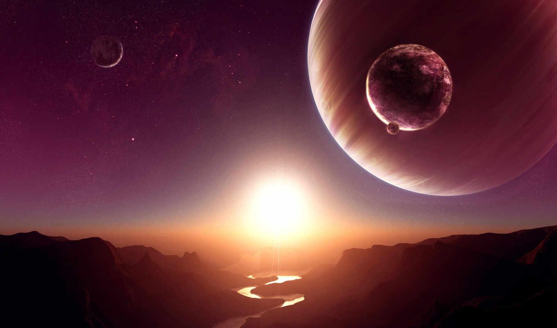 космос, космические, cosmos, fantasy, favourite, пейзажи -,