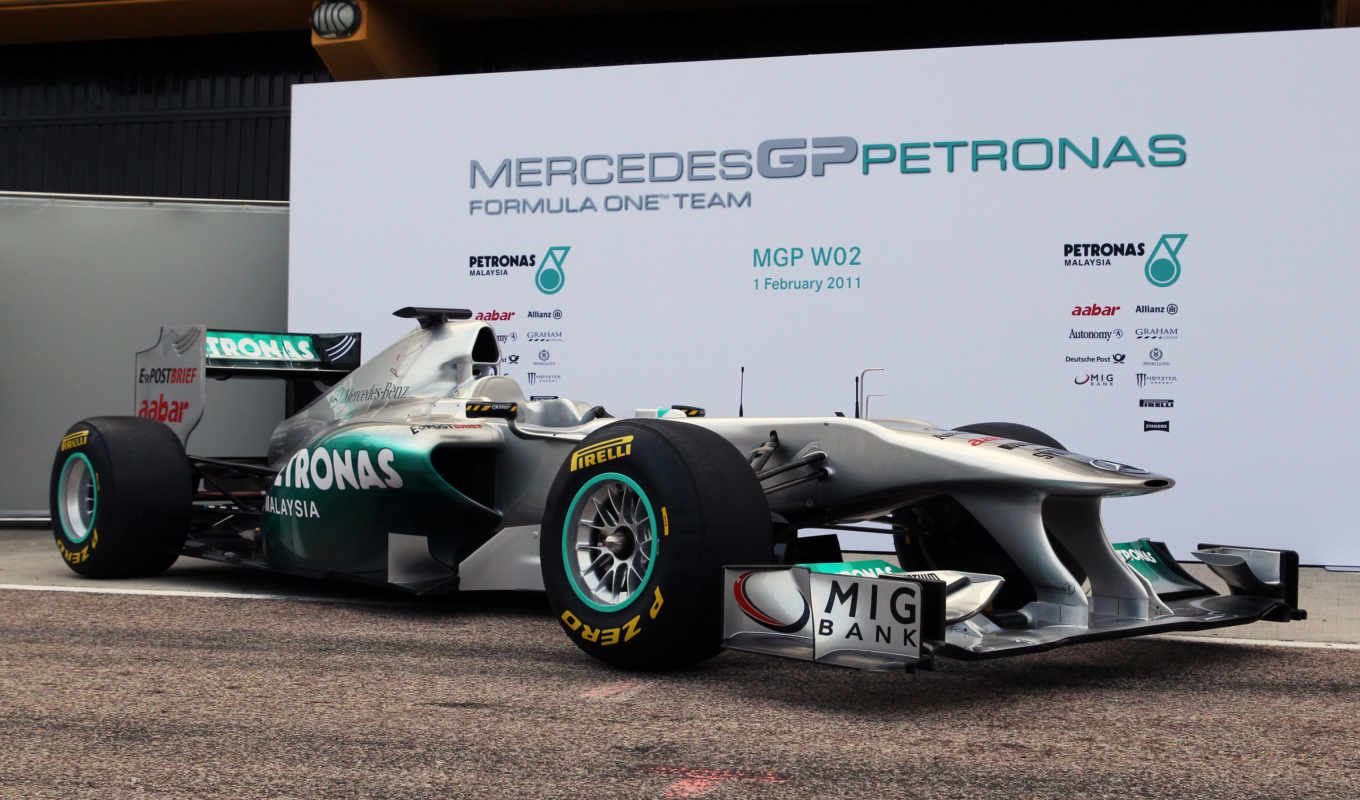 mercedes, gp, car, один, формулы, mgp,